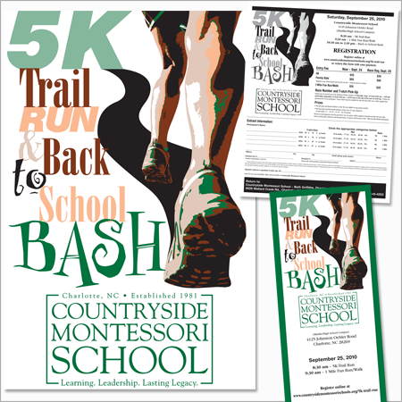 Countryside Montessori School 5k Trail Run and Back to School Bash