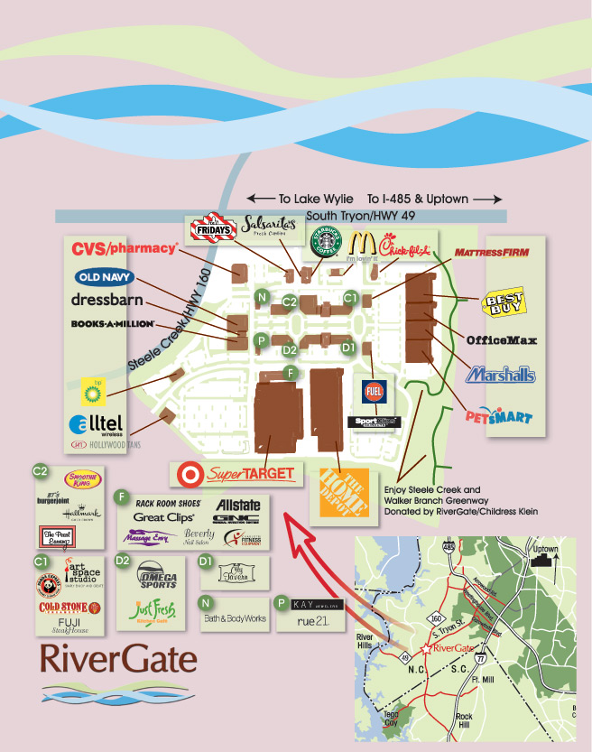 Rivergate mall insert koger creative for The rivergate